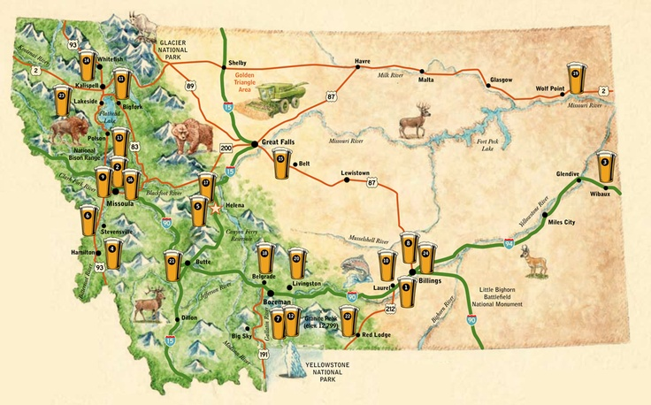 Beer Map Catch Em All If You Can  Drinks Alcoholic