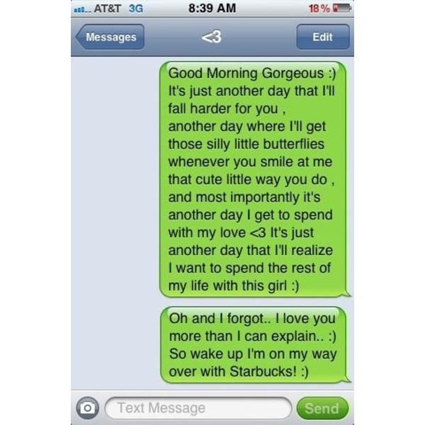 Romantic Text Messages Tumblr