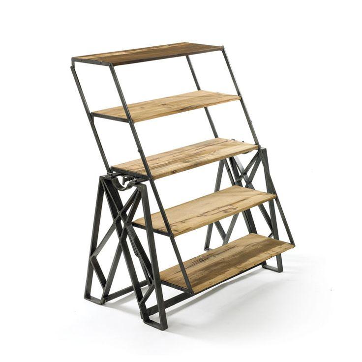 Reclaimed Wood Convertible Shelf Table : 5fd3333d88da670849b4f1fa985bc33a from pinterest.com size 736 x 736 jpeg 43kB