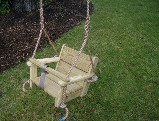 Toddler swing and rope for Rope swing plans