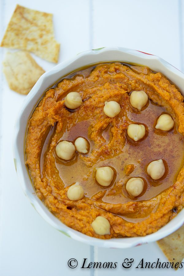 Sun-Dried Tomato Hummus | Lemons & Anchovies Blog @Jean Pope | Lemons ...