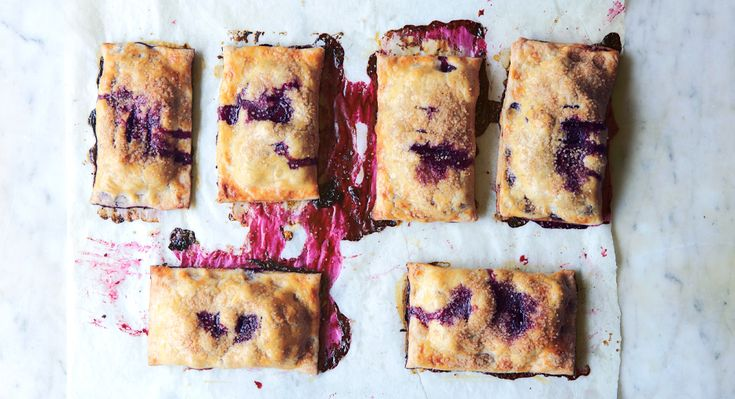 Blueberry Hand Pies - Bon Appétit