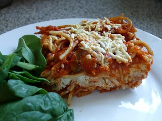 The Woodchuck Vegan: Spaghetti Pie | Veggie Monster | Pinterest