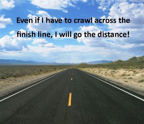 Go the distance!