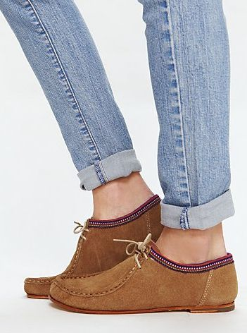 I love these moccasins
