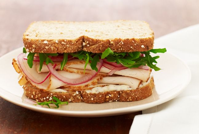 Turkey Sandwich with Pickled Red Onions | Recipe