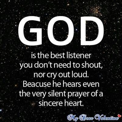 The best listener god