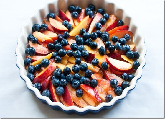 Peach and Blueberry Coffee Cake | sweet treats | Pinterest