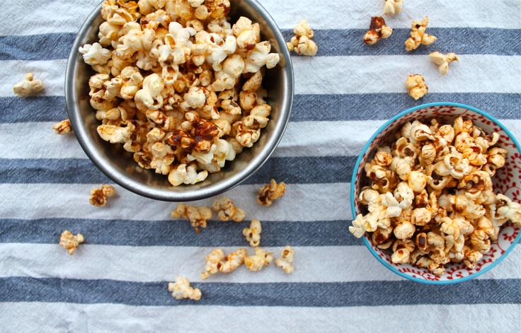 Sweet and spicy popcorn | Snacks | Pinterest