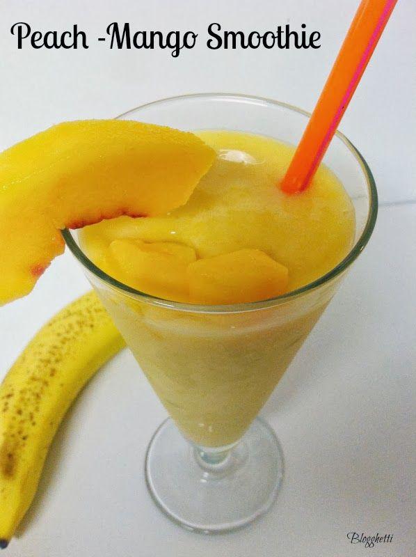 Mango Peach Smoothie Recipes — Dishmaps