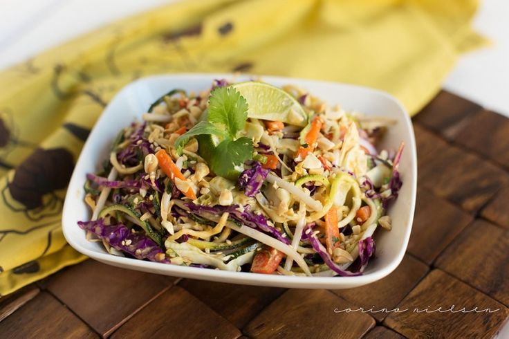 Thai inspired zucchini salad. (Scroll to bottom). Full of flavor and ...