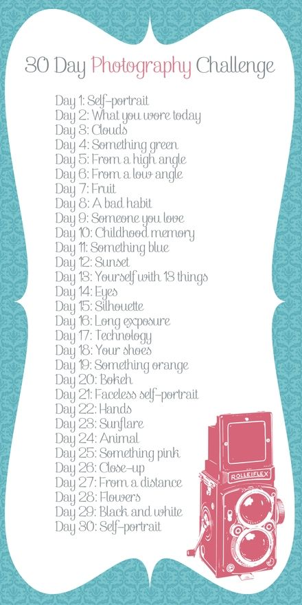 30 Day Photography Challenge arts-crafts