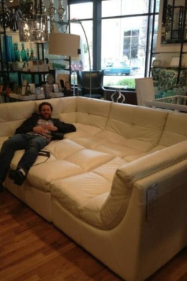 big couch house stuff pinterest. Black Bedroom Furniture Sets. Home Design Ideas