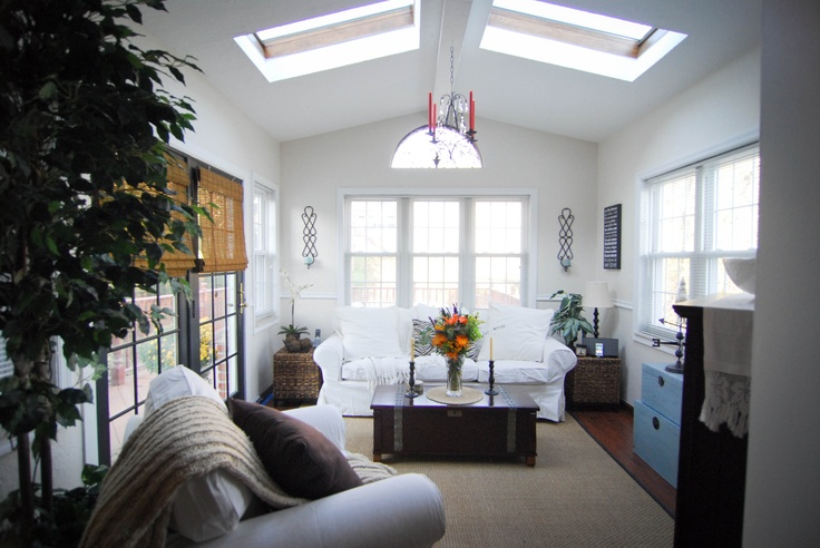 Sunroom www.jenniferchurches.com Painted black ... | Places I have ca…