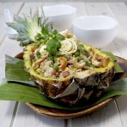 Thai Style Pineapple Fried Rice | food | Pinterest