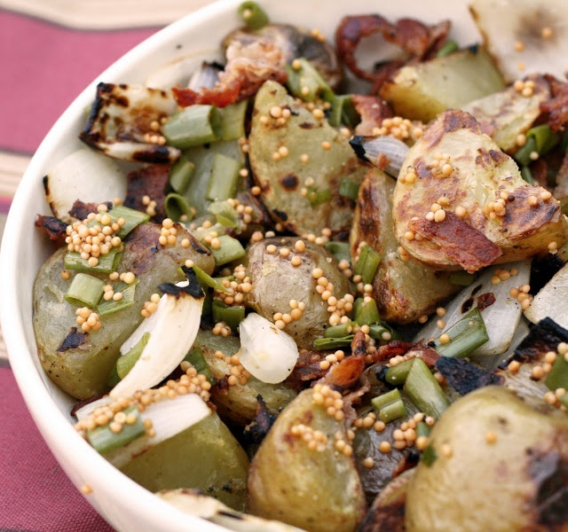 Grilled German-style Potato Salad | I love to Grill | Pinterest
