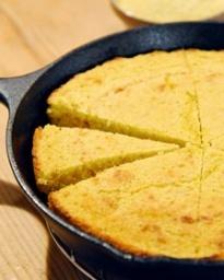 Sage and Honey Skillet Cornbread | Recipe