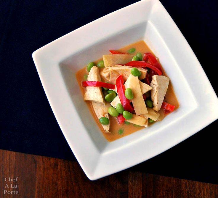 edamame tofu curry | Edamame | Pinterest