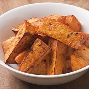 Chile-Garlic Roasted Sweet Potatoes   Cooking Gluten Free   Pinterest