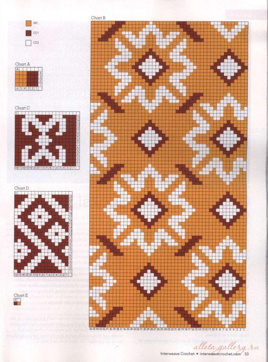 Схемы вязания джурабов носки