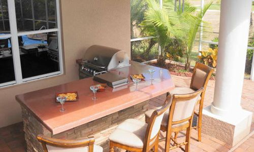 Outdoor Kitchen Counters in Cape Coral  Outdoor Living  Pinterest