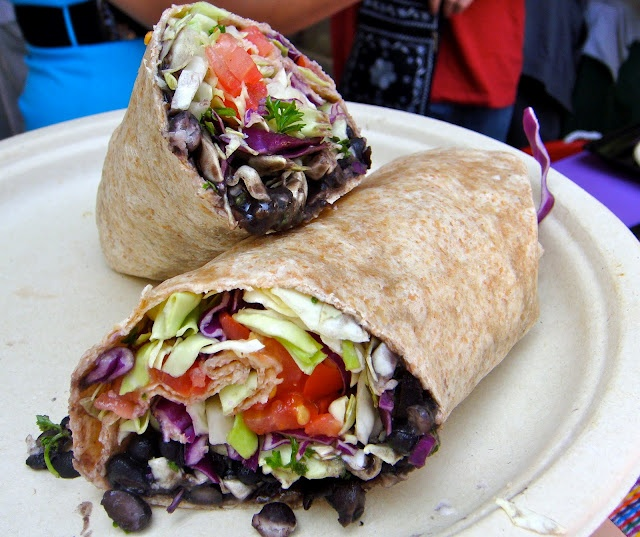 Black Bean Wrap | Recipes | Pinterest
