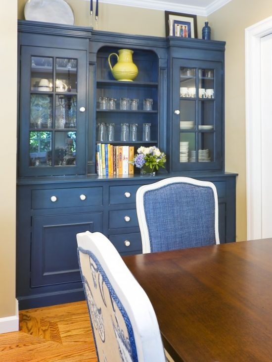 Built In Hutch Painted Furniture Pinterest