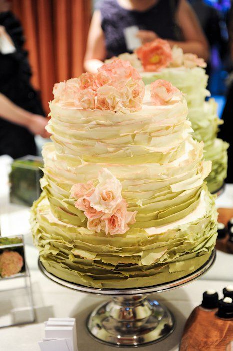 Gorgeous textured cake