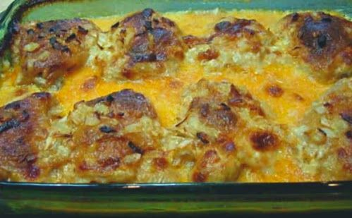 Easy Baked Chicken in Creamy Gravy | Drick's Rambling Cafe