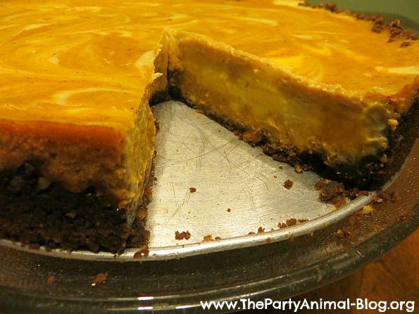 Pumpkin Cheesecake With Gingersnap & Pecan Crust Recipes — Dishmaps