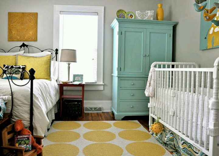 Nursery In Master Bedroom For The Home Pinterest