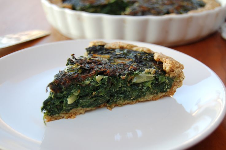 Swiss Chard And Spinach Quiche - The Iron You - A healthy living blog ...
