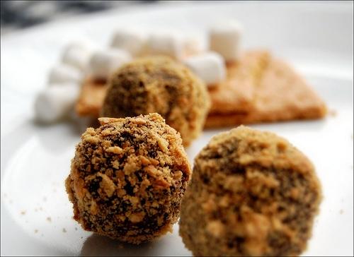 mores Truffles. | truffles | Pinterest