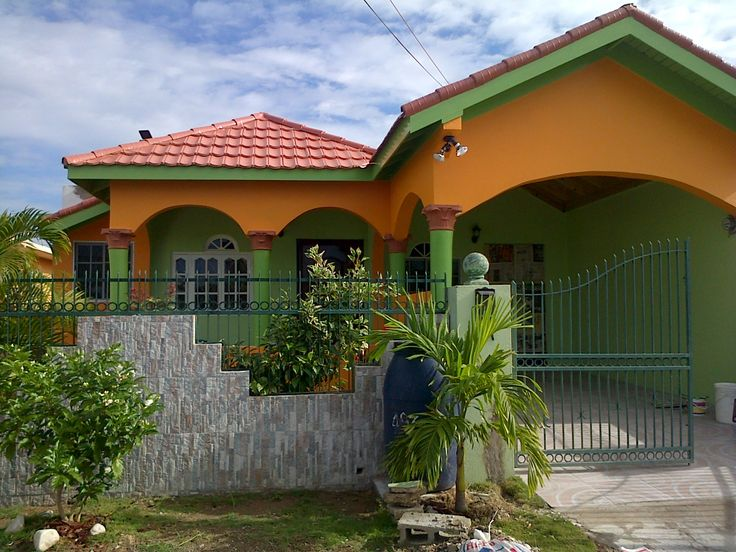 Perfect colours for our home in jamaica our caribbean for Home designs in jamaica