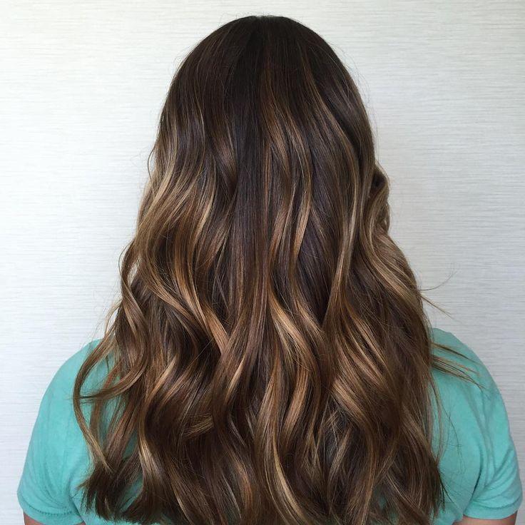 Как сделать мелирование на коричневых волосах 272