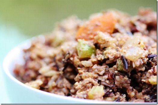 Wild Rice With Mushrooms, Cranberries, And Walnut Oil Recipes ...
