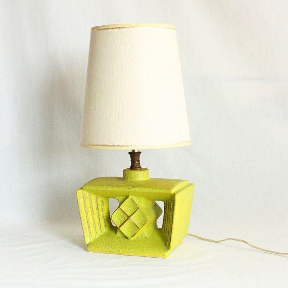 vintage lamp table lamp dresser lamp night stand. Black Bedroom Furniture Sets. Home Design Ideas
