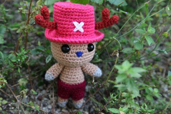 Tony Tony Chopper (One Piece) - Amigurumi crochet pattern ...