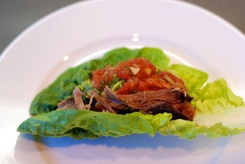 Paleo Overnight Oven-Braised Shredded Pork Tacos - Amazing! This has ...