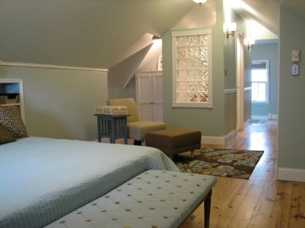 Pin by nicole sveen on diy attic rooms pinterest - Cape cod style bedroom image ...