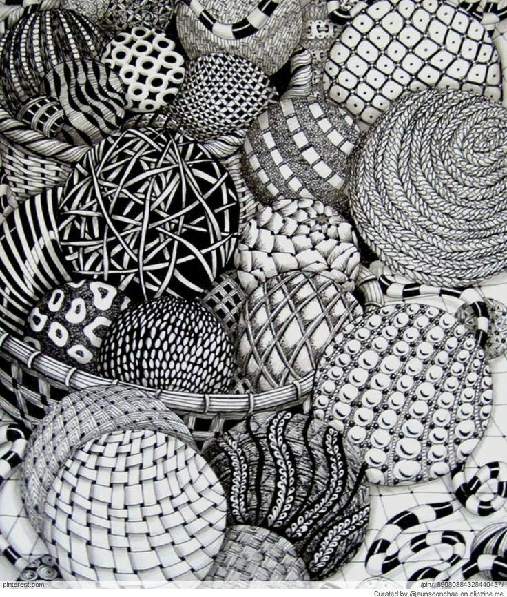 Zentangle Patterns Ideas