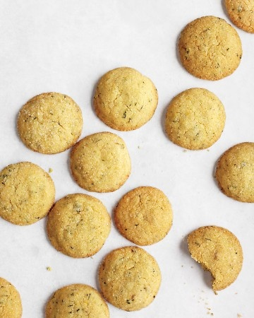 Lemon-Ginger Cookies with Mint | Cookies | Pinterest