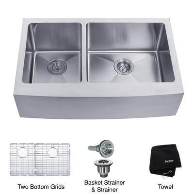 Kraus Kitchen Sinks Canada : ... 16 gauge Stainless Steel Kitchen Sink - KHF204-33 - Home Depot Canada