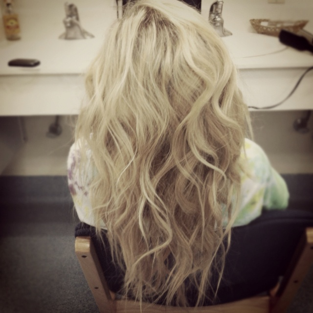 Curled with a straightener | Hair and Beauty | Pinterest