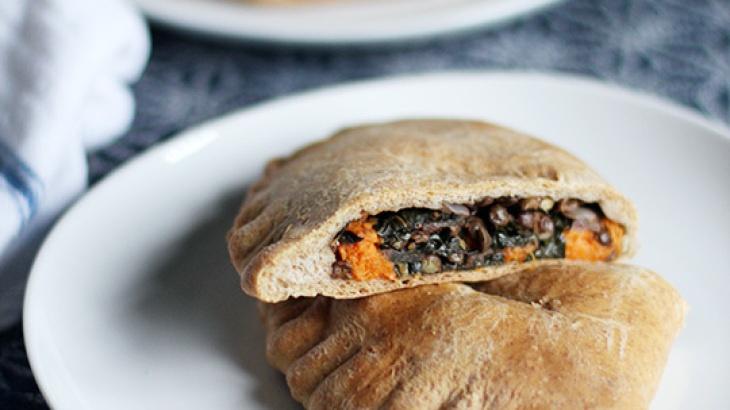 Spiced Lentil, Sweet Potato & Kale Whole Wheat Pockets ...