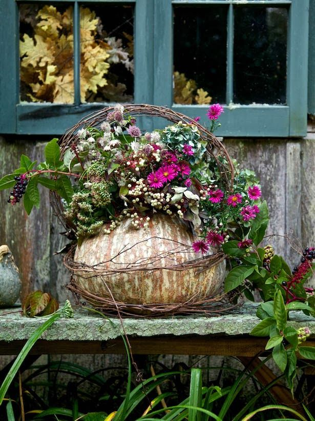 Heirloom Pumpkin #decorative #basket  #diy