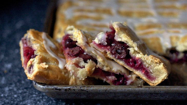 Sour Cherry Slab Pie III Recipe | Deserts | Pinterest