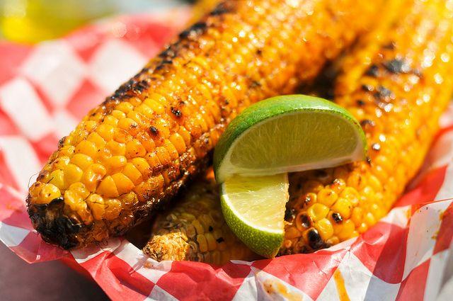 Italian-Style Grilled Corn | Recipe