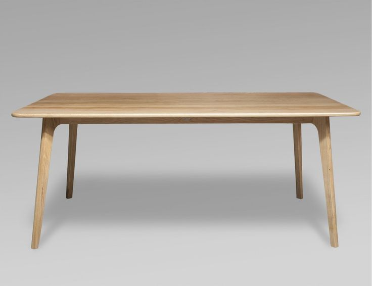 The Convair Dining Table Captures The Simple Lines Of Scandinavian
