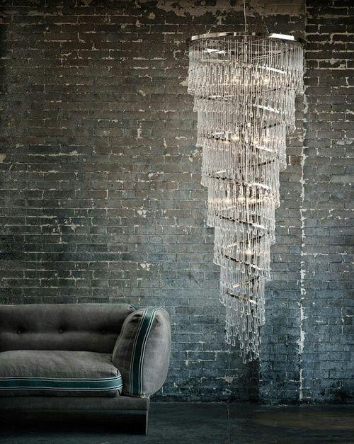 We ❤ Long Chandeliers. #chandelier #homedecor http://www.myknobs.com/ete2079720.html